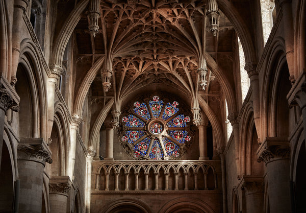 Interior of Christ Church Cathedral, Oxford (Andy Haslam/The New York Times)