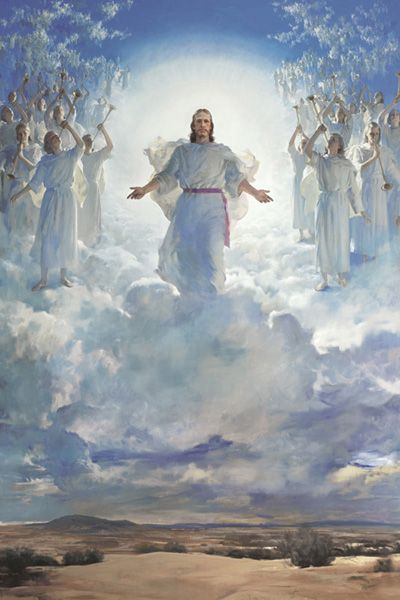 Christ in heaven. (Pinterest)