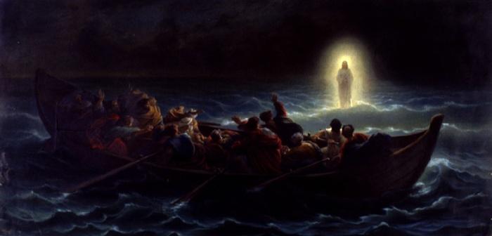Amedee Verint: Jesus Walks on Water