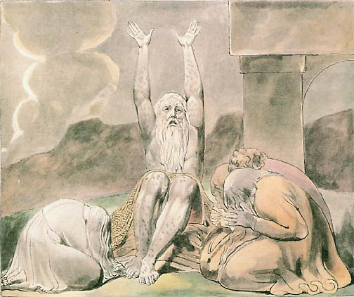 William Blake: Job Laments (British Museum)