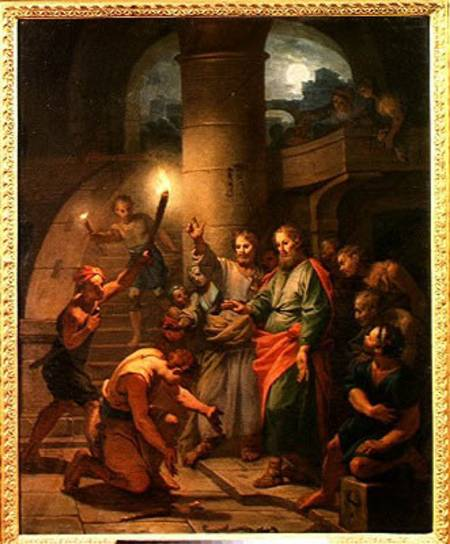 Claude-Guy Halle: The Deliverance of St. Paul and St. Barnabas (Musee Carnavalet, Paris)