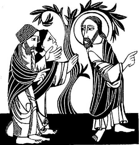 Philip, Nathanael and the fig tree. (sacredstory.org)