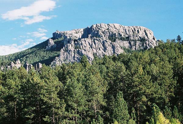 For joy in God's creation: Black Elk Peak, South Dakota. (Wikipedia)