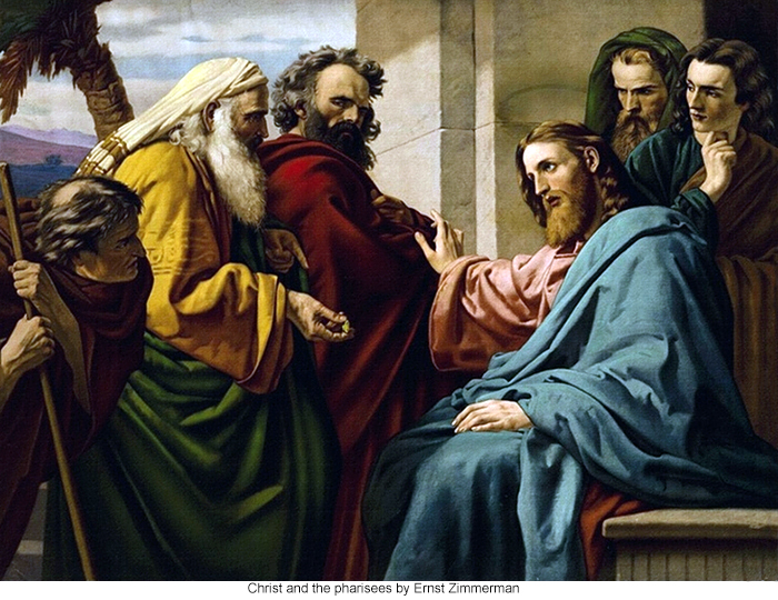 Ernst Zimmerman: Christ and the Pharisees