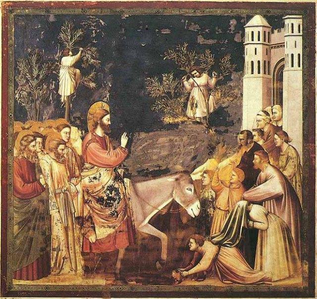 Giotto di Bondone: Entry Into Jerusalem