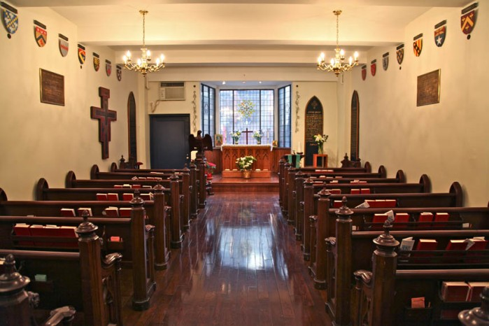 L'Eglise Francaise du Saint-Esprit, or French Church of the Holy Spirit, is a 300-year-old parish in New York City. (parish photo)