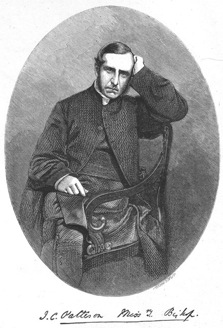 """George Augustus Selwyn, the founding Bishop of New Zealand, recruited the English priest John Coleridge Patteson to do missionary work in the South Seas; he arrived in Auckland in 1855. For five years he visited the islands of Melanesia on the mission ship Southern Cross, teaching, evangelizing and learning 23 of the indigenous languages. Every time he visited a new island he would swim alone to shore, wearing a top hat filled with gifts. He started a mission school and tried to recruit students to become lay ministers or clergy, but many parents did not want to send their boys away, sometimes for years. He had to fight the perception that he was just another British """"blackbirder"""" bent on trafficking in their sons as indentured servants in Australia or Fiji. He was martyred on Nakupu in the Solomon Islands, perhaps as revenge against the slave trade (which he worked to suppress) and perhaps because his respect for women threatened the patriarchal social order in a society of headhunters. His murder galvanized Britain, which annexed Fiji and banned the slave trade. (anglicanhistory.org)"""