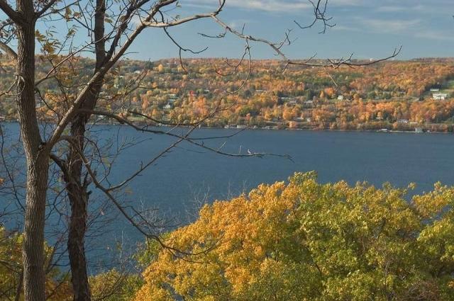 Seneca Lake, New York, from the east. (The Rev. Michael Hartney)