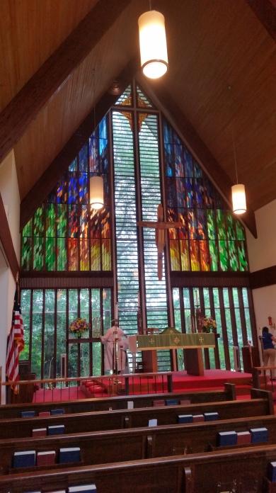 St. Michael's, Pikesville, Louisiana, a few days ago. (Tom Welch)