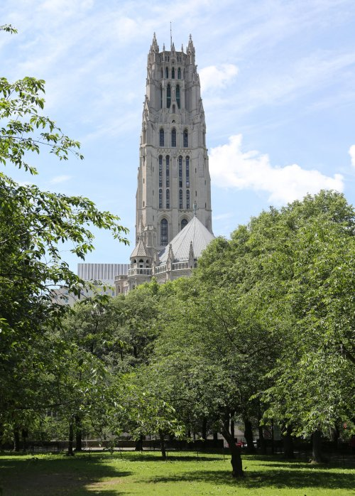 Riverside Church in New York City, a United Church of Christ-American Baptist congregation, has a prestigious history, in part because of the era in which it was built (1930, in the fast-fading glory days of Mainline Protestantism) and in part because of all the money poured into it