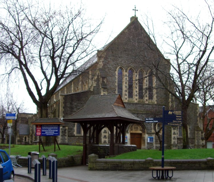 St. Mary's, Swansea, Wales