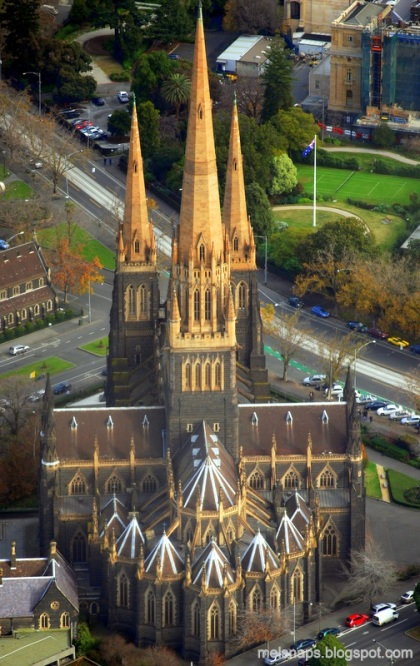 St. Patrick's Roman Catholic Cathedral and Minor Basilica, Melbourne.