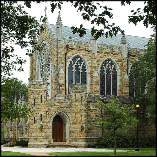 All Saints' Chapel at Sewanee: The University of the South in Tennessee, an Episcopal liberal arts college and seminary. (The Rev. Michael Hartney)