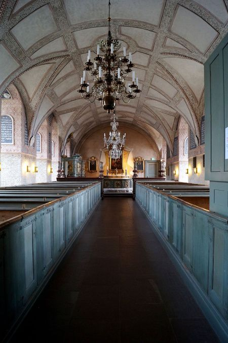 Chapel of Kalmar Castle, Sweden, dating in some form since the 13th Century. (Wikipedia)