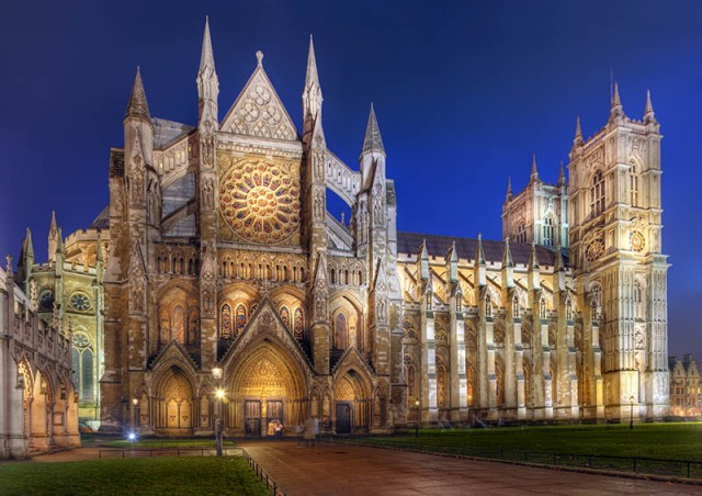The Collegiate Church of St Peter at Westminster, London.
