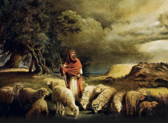 Zechariah the shepherd. (Layman's Bible blog)