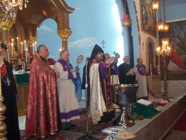Christmas in Armenia, 2013; they use the Old Calendar and will celebrate it this year on Saturday 7 January.