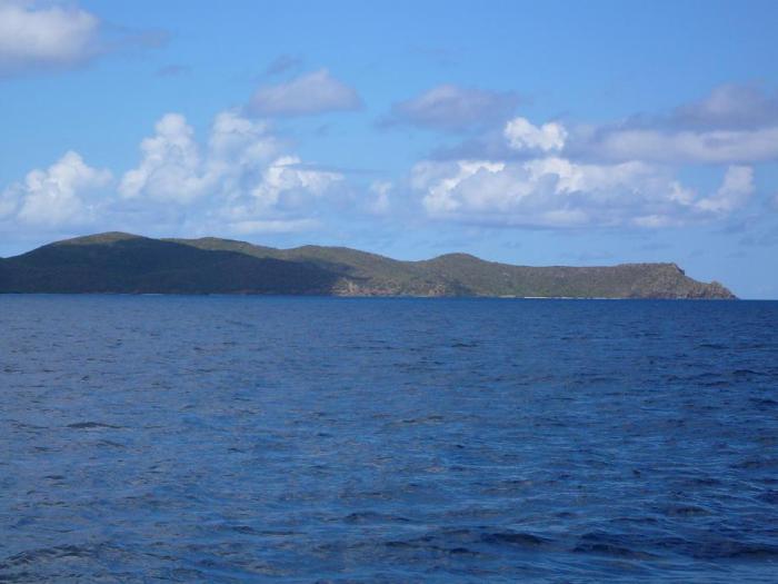 For joy in God's creation: Great Caminoe in the British Virgin Islands. (Wikipedia)