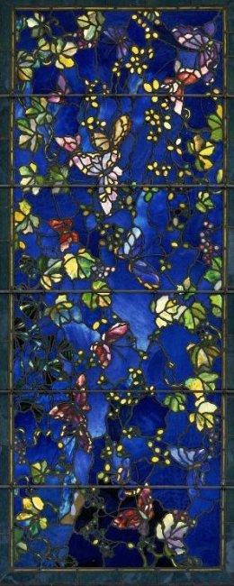 John LaFarge, 1889: Butterflies and Foliage (Boston Museum of Fine Arts)