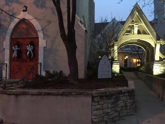 St. John's, Lafayette, Indiana, my home parish, after Jubilee Christmas last year for 41 families and 103 kids. (parish photo)
