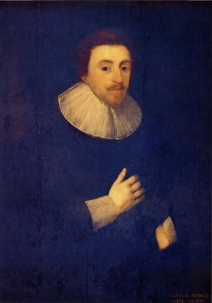 Deacon Ferrer founded a family-based religious community at Little Gidding which became a forerunner of the re-establishment of monasteries in England after the Restoration of Charles II. (after a portrait by Cornelius Janssens)