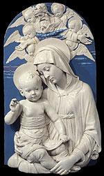Della Robbia: Virgin & Child