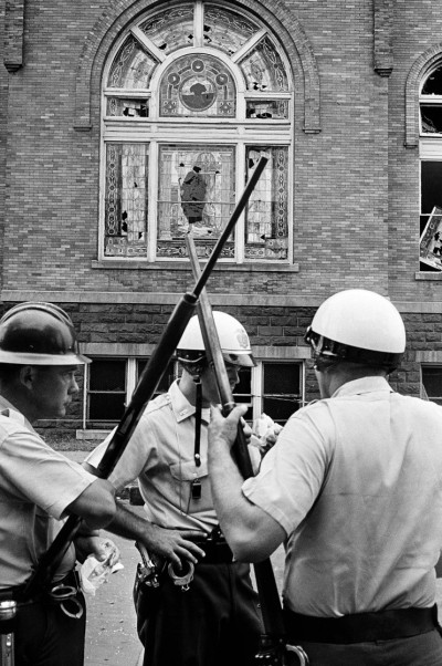 """President Obama has designated five new national monuments, including a civil rights district in Birmingham, Alabama centered on the 16th Street Baptist Church, bombed by Ku Klux Klansmen in 1963, which killed 4 girls in Sunday school and maimed others. This was supposed to """"warn off"""" Dr. Martin Luther King Jr. and other justice leaders, but what it did was make the rest of America hate the Klan and all it stood for. (Associated Press)"""