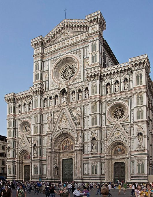 The Duomo in Florence (Wikipedia)