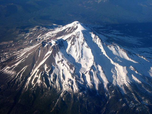 For joy in God's creation: Mt. Shasta, California (Ewen Denney)