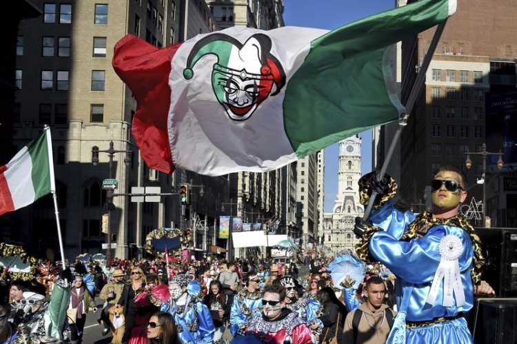 The 117th Mummers Parade was held in Philadelphia New Year's Day; it's the oldest folk festival in the USA, with roots back to 17th Century Europe. It's an anomaly at best, though, run by a mostly white crowd in a mostly black city and repeatedly criticized for racist, sexist, homophobic imagery. (Associated Press)