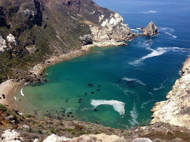 For joy in God's creation: Potato Harbor, Santa Cruz Island, California (Wikipedia)