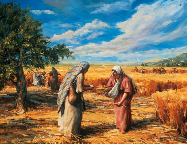 Judith Mehr: Ruth Gleaning in the Fields