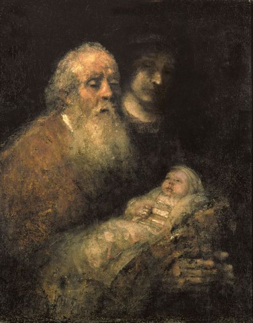 Rambrandt: Simeon with the Christ Child in the Temple