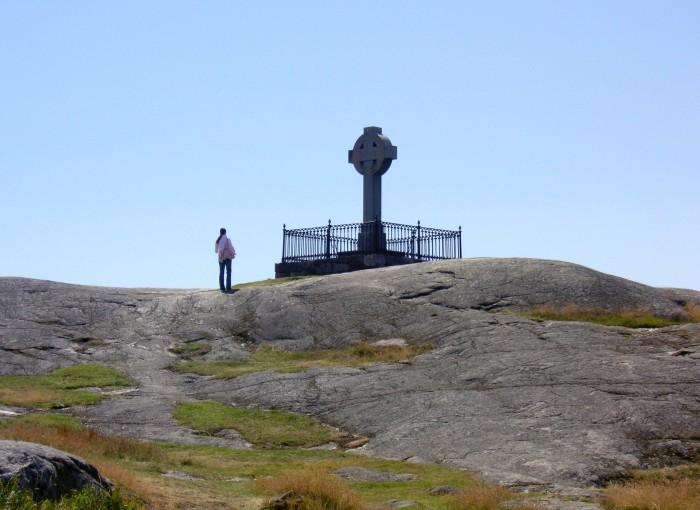 St. Anskar Cross at Birka, Sweden, a World Heritage Site. (Holger Ellgaard)