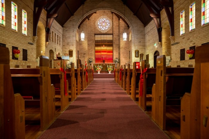 St. Edmund's, Wembley, near Perth, New South Wales. (parish photo)