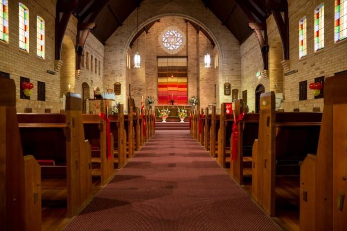 St. Edmund's, Wembley, near Perth, New South Wales. (parish photo)