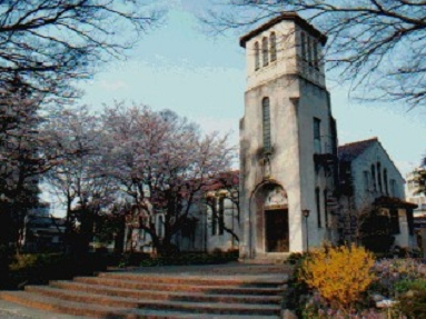 St. Matthias Cathedral, Maebashi, Japan, mother church of the Diocese of Kitikanto. (parish photo)
