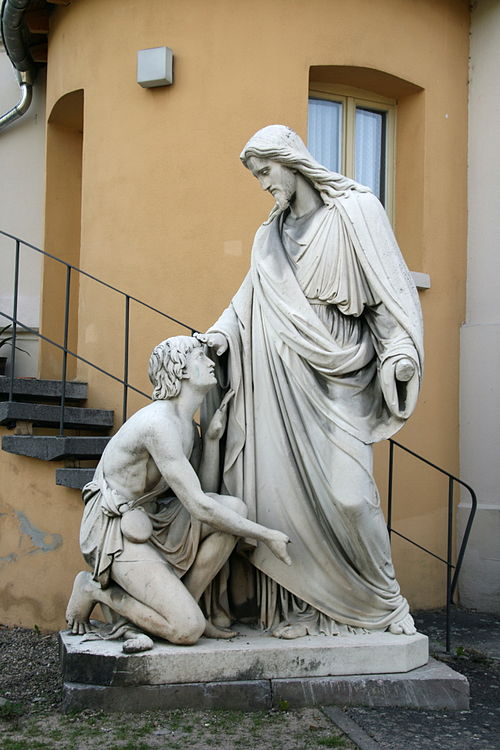 Johann Heinrich Stöver, 1861: Jesus Heals Bartimaeus